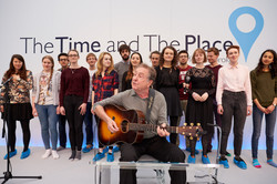 Pembroke Choir with Eric Idle