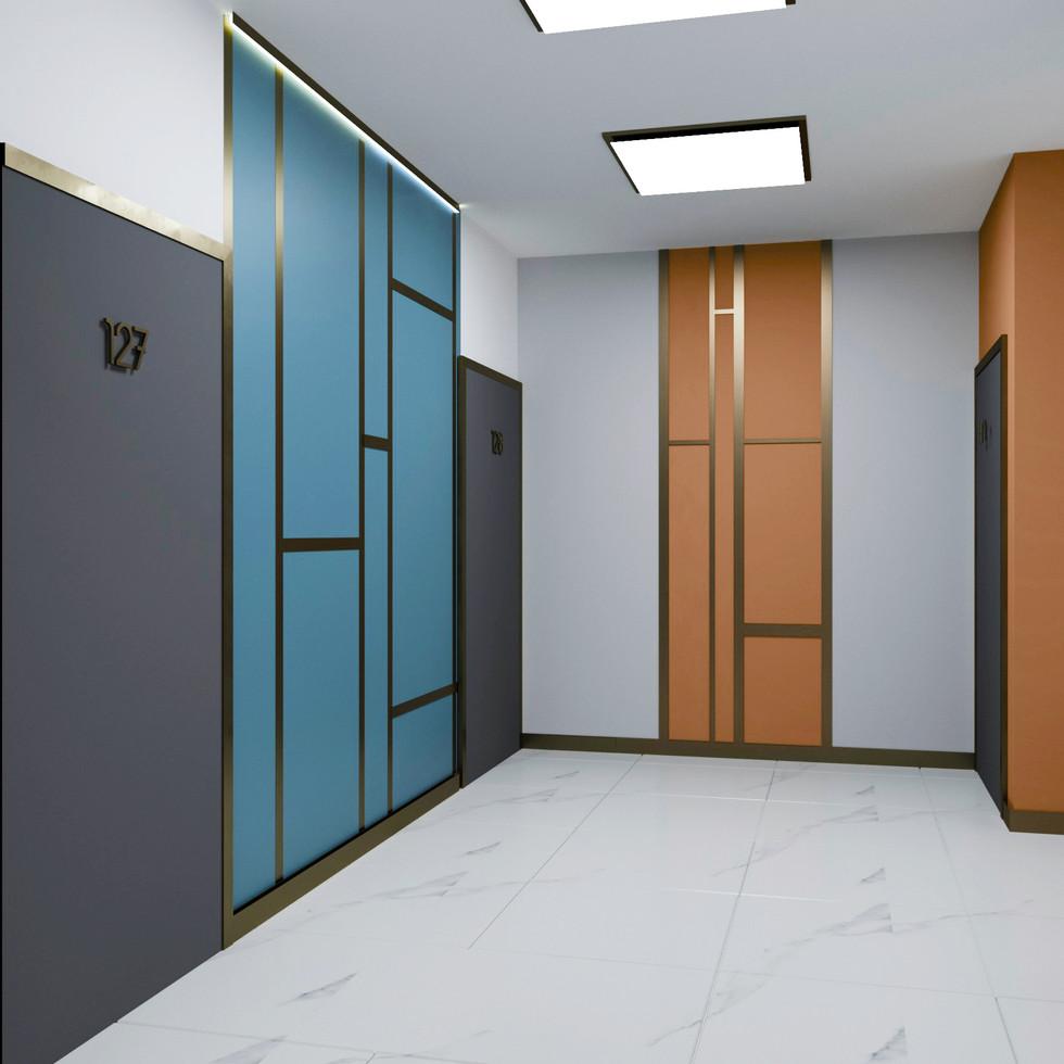 Квартирный коридор