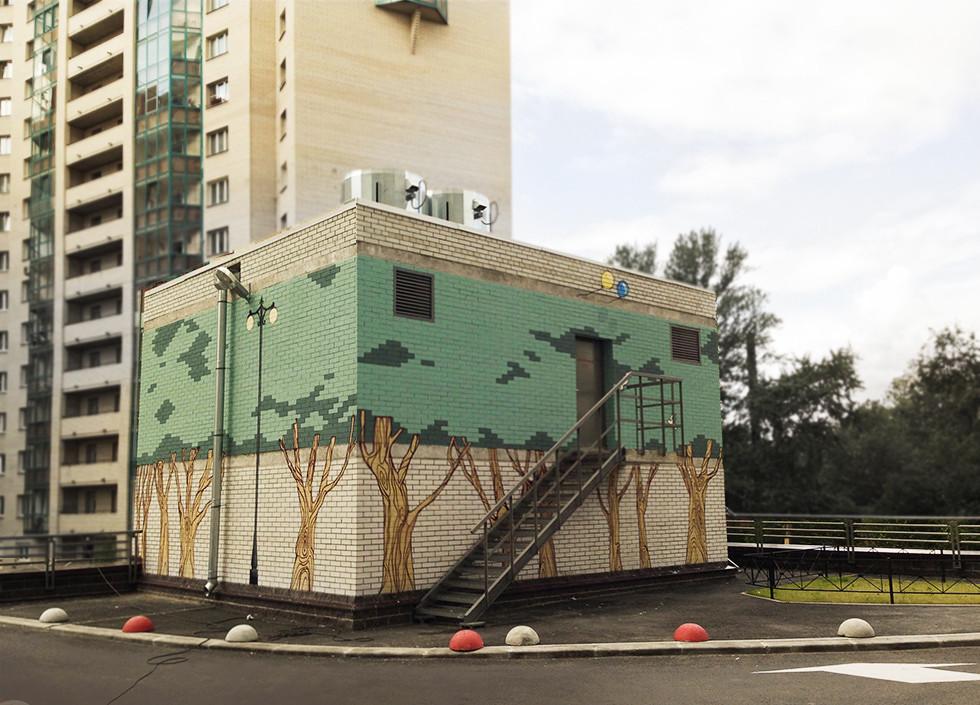 Дом у Речного вокзала