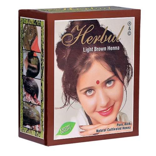 Herbul Light Brown Henna