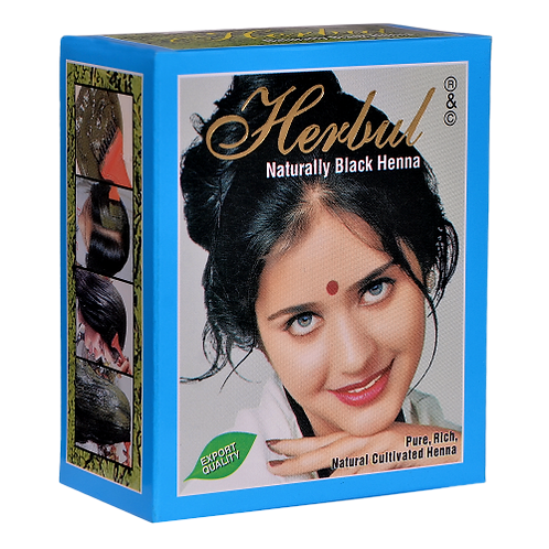 Herbul Naturally Black Henna