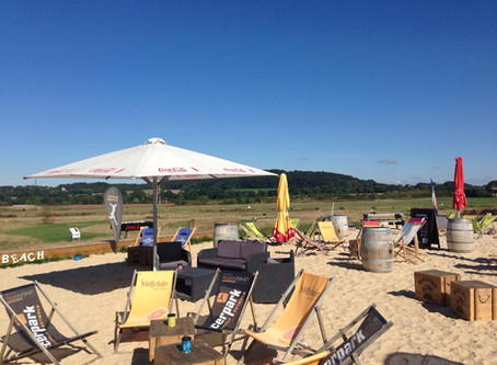 Event Location mit Beach Flair
