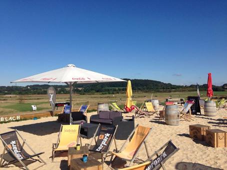 Event Location mit Beach Flair