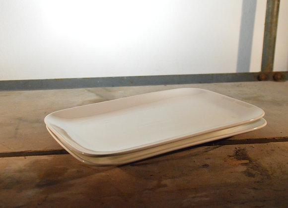 Große Porzellan Servierplatte