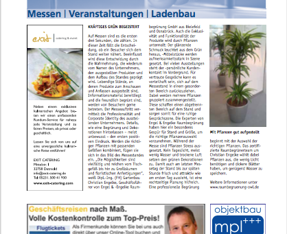 MESSE-CATERING ALS SERVICE