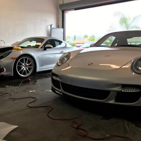 2014 Porsche 911Turbo S & 1996 Porsche Carrera