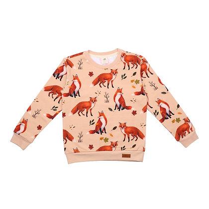Sweatshirt Red Foxes von Walkiddy RF21-222