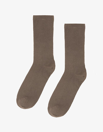 Damen Organic Socks in Warm Taupe von Colorful Standard