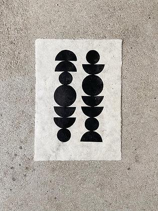 """Original Kunstdruck A4 """"Ascend"""" von Iosephine Prints"""