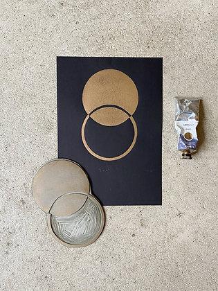 """Original Kunstdruck A4 """"Luna"""" von Iosephine Prints"""