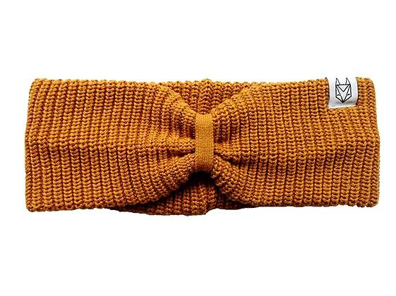 Stirnband in ocker von Róka
