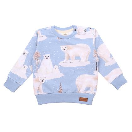 Sweatshirt Polar Bear von Walkiddy PB21-222