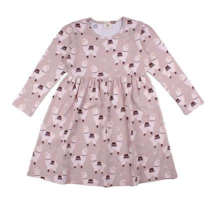 Kleid Little Alpacas von Walkiddy