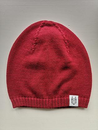 Strickmütze in rot von Róka