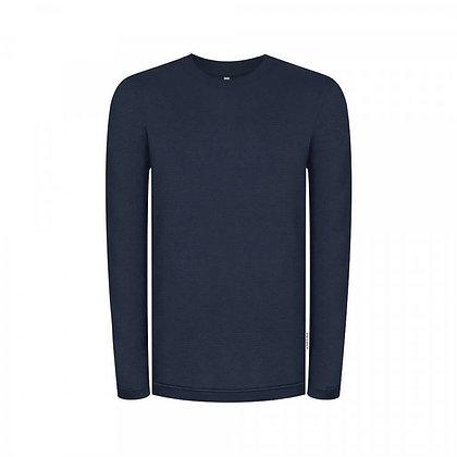 Doublefab Sweater in blau von bleed