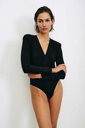 Body Kim in schwarz von Elementy