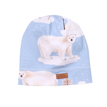 Beanie Polar Bear von Walkiddy PB21-224