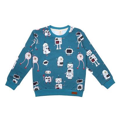Sweatshirt Robot Friends von Walkiddy RO21-222