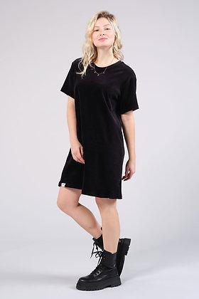T-Shirt Kleid aus Samt Lakshmi von EYD