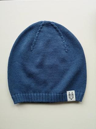 Strickmütze blau von Róka