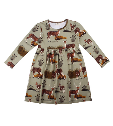 Kleid Deer Family von Walkiddy