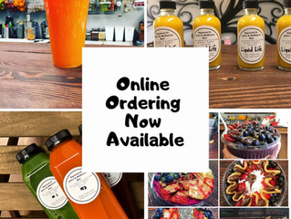 Online Ordering Is here!