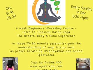 Yoga - Beginner's Workshop Series
