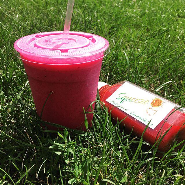 Pitaya Smoothie, Beet Juice