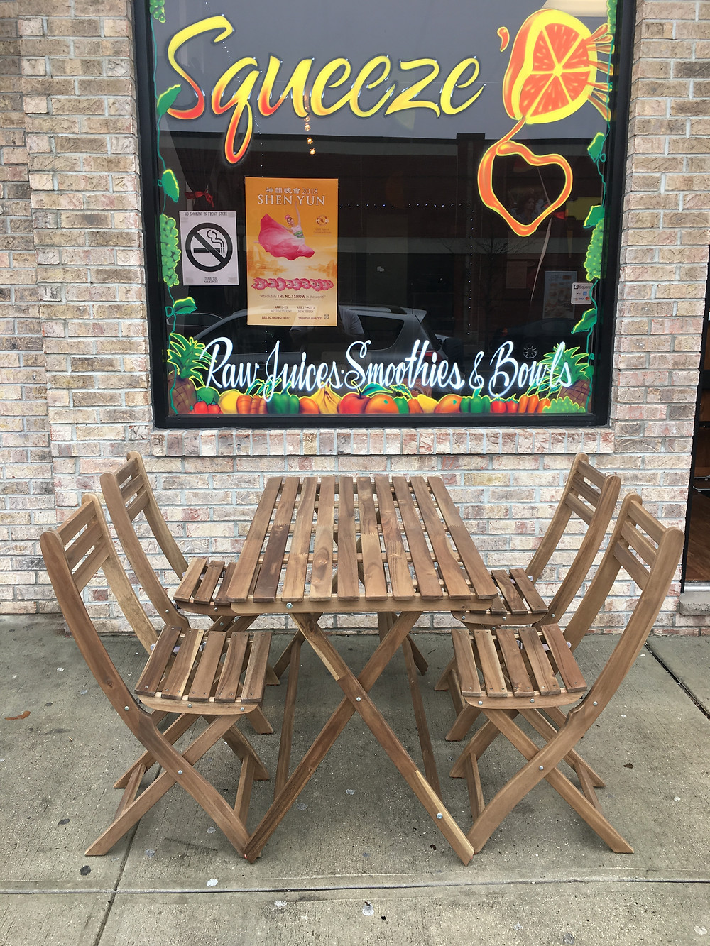 Squeeze'D Outdoor Seating
