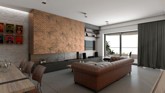 Urban Modern Apartment