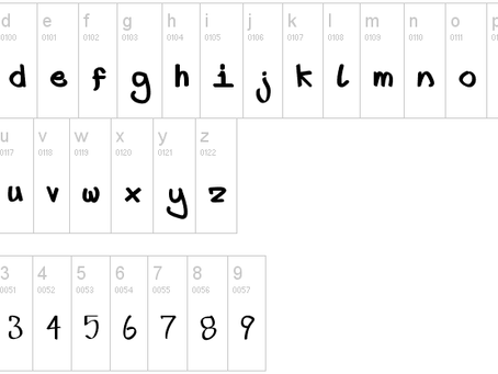 First Font Lower Fat