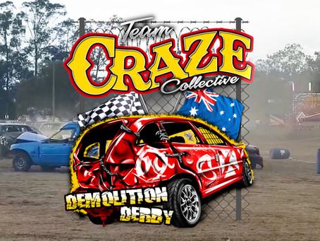 The Penrith Show Demolition Derby at Penrith Paceway 2018