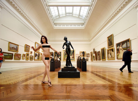 Art Gallery of NSW 'NUDE' PERFORMANCE EXHIBITION