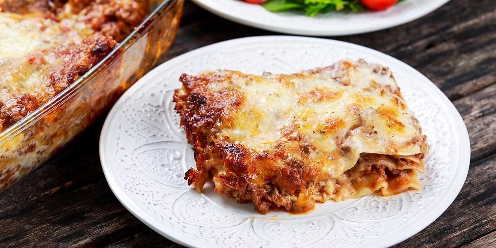 Lasagna From Scratch (September)