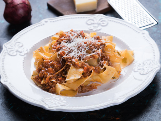 pappardelle with ragu alla bolognese