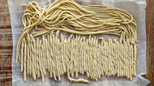 Hand Rolled Pasta for Team Building