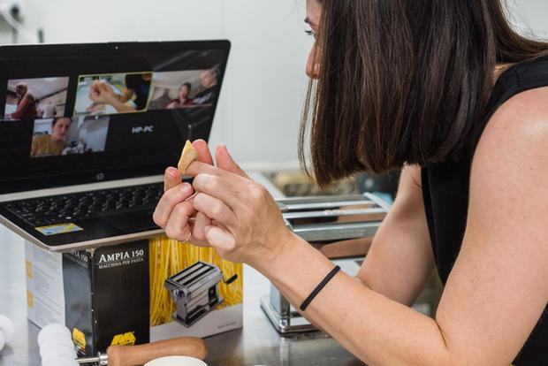 Online pasta making class