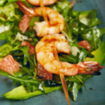鮮蝦沙拉佐檸檬橄欖油, Ginger Kitchn, Ginger Kitchen Taipei, italian recipes,western recipes, prawn salad, prawns, Ginger Kitchen食谱, 正宗義式佳餚,  食谱,