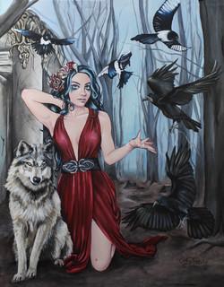 Phantoms Lowbrow Gothic Art