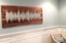 Residential Soundwav Art