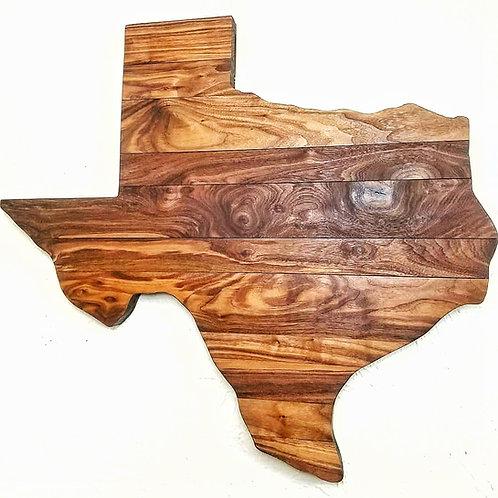 Walnut Texas Wall Art