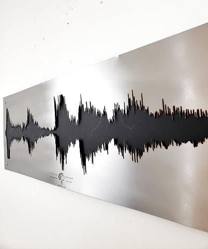Custom Metal Soundwave