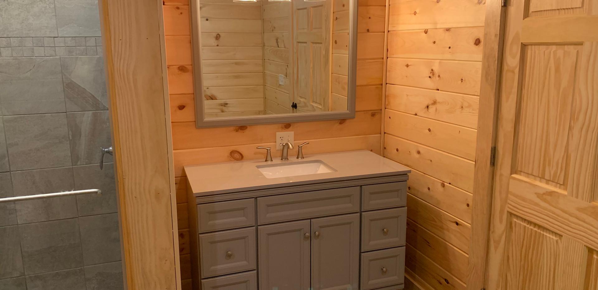 Basement Master Bathroom