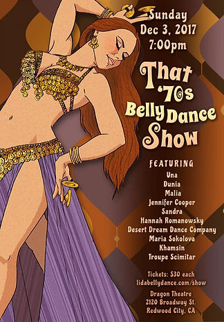 That'70s Belly Dance Show
