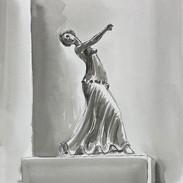 Inktober 2018 Day 22. Expensive-Greek dancer