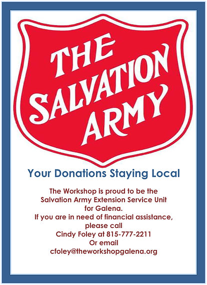 Your Donations Staying Local