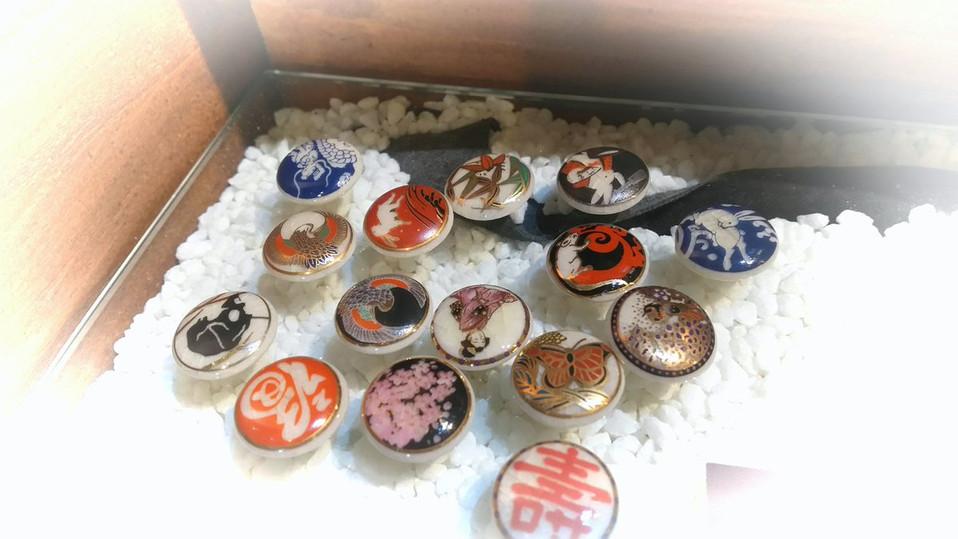 薩摩ボタン、ヨーロッパで大いに流行る