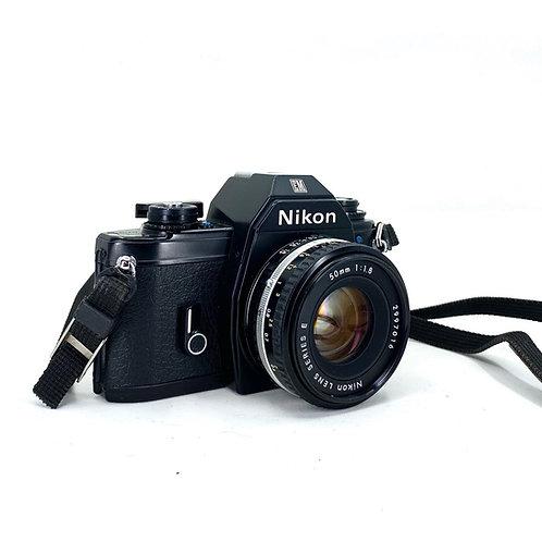 Nikon EM w/52mm lens