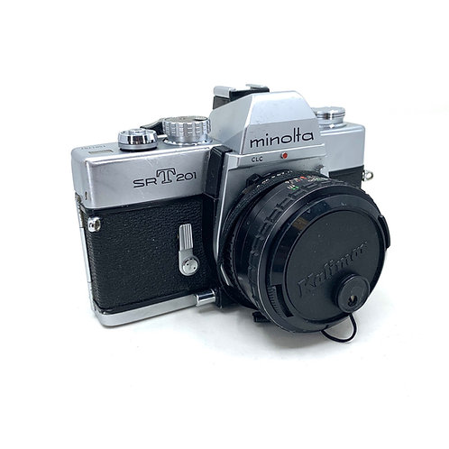 Minolta SRT201 w/50mm lens