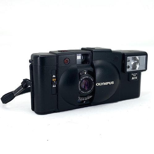 Olympus XA2 point and shoot w/film